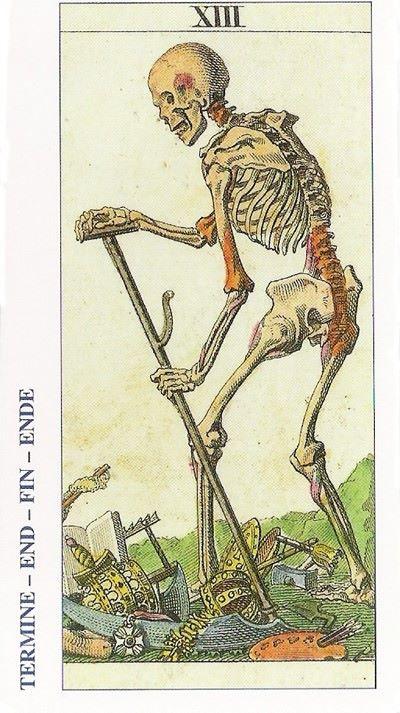 Arcano 13 La Muerte